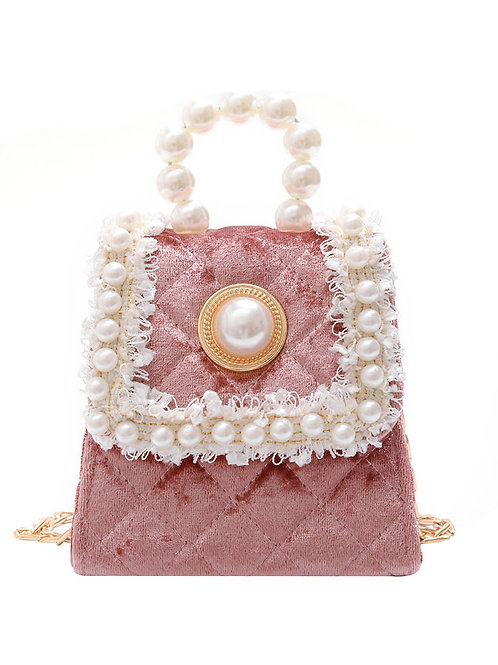 ADELAIDE FAUX PEARL CROSSBODY BAGS (MULTIPLE COLORS)
