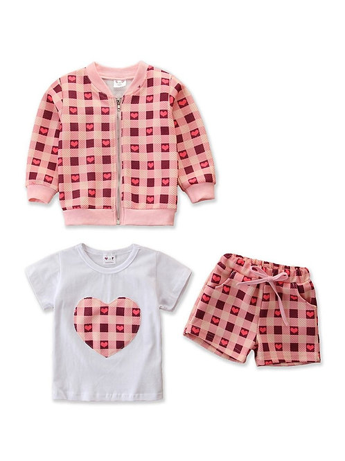 IT'S PLAID MY LOVE THREE-PIECE SET