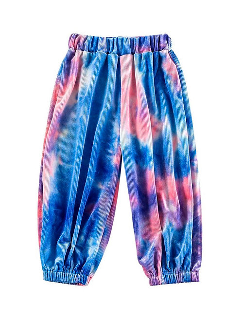 TIE-DYE RIBBED JOGGER (MULTIPLE COLORS)