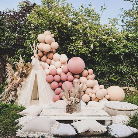 #BabyShowerGoals - Boho Garden Theme Baby Shower