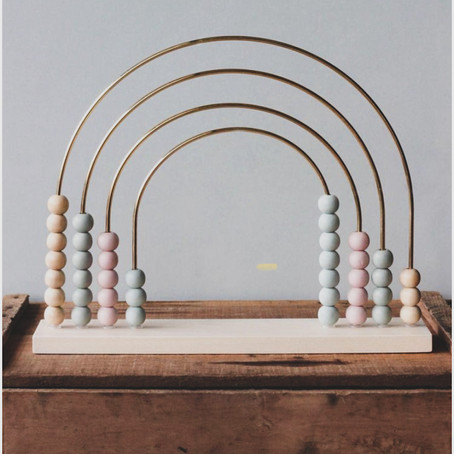 Baby Brands We Love - Wooden Rainbow Abacus By Odin Parker