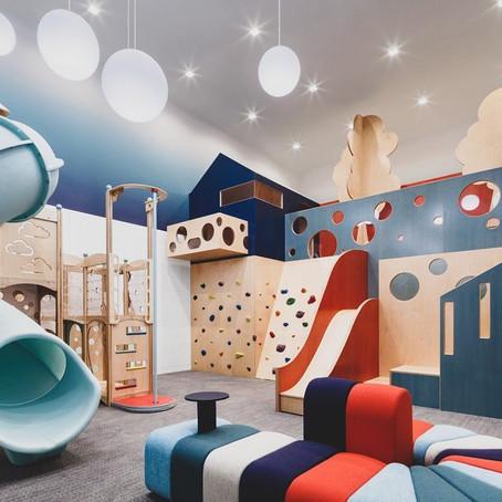 #PlayroomGoals - Red + Blue Playroom