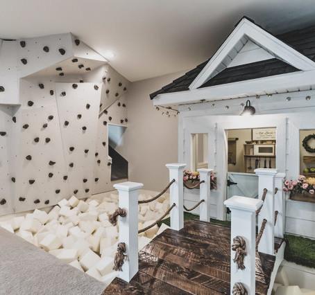 #PlayroomGoals - Modern Farmhouse Foam Pit Playroom