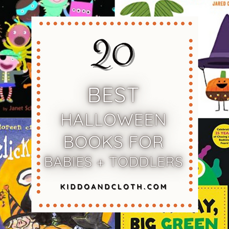 20 Best Halloween Books For Babies + Toddlers