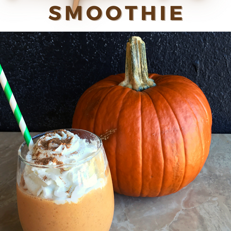 Pumpkin Pie Smoothie | Mom Snack Break Recipe