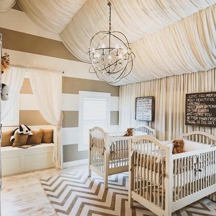 #NurseryGoals - Flowing Twin Baby Nursery