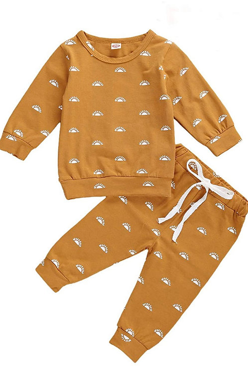 YOUR ARE MY SUNSHINE TWO-PIECE SET