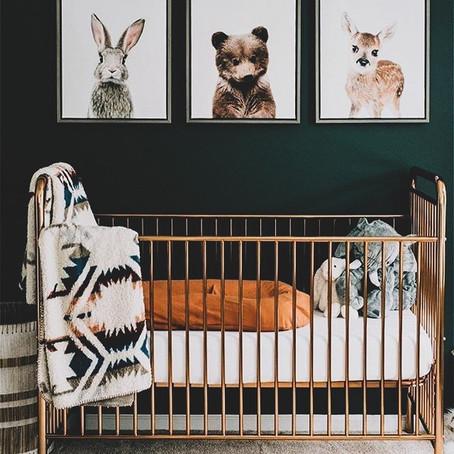 #NurseryGoals - Woodland Creatures Baby Nursery