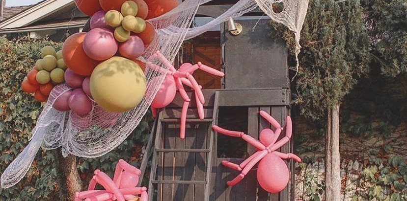 #PlayroomGoals - Adorably Spooky Spider Playground - Halloween Decorations For Kids