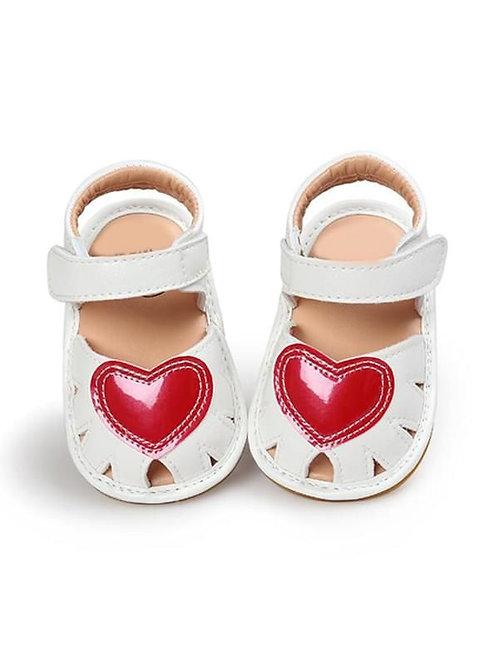 LOVE STORY HEART SANDALS (MULTIPLE COLORS)