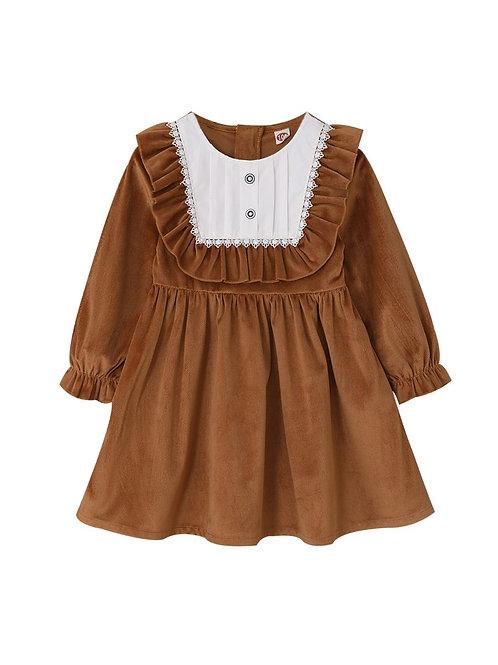 ELIZABETH RUFFLE DRESS