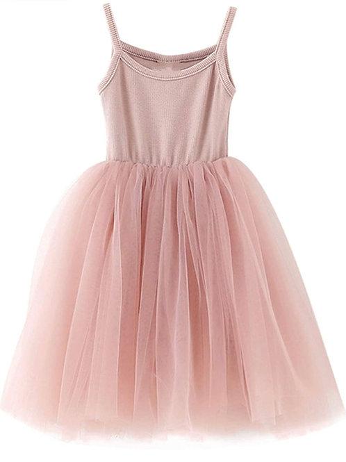 MIA MESH DRESS - PINK