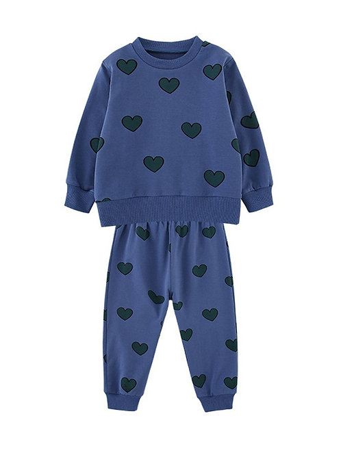 MY BLUE HEART TWO-PIECE SET
