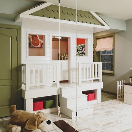 #PlayroomGoals - Clubhouse & Crafts Playroom