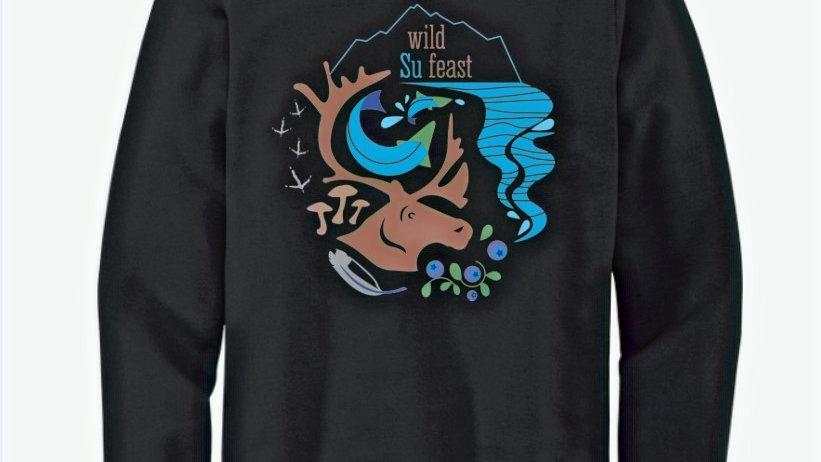 Black Wild Su Feast Sweatshirt