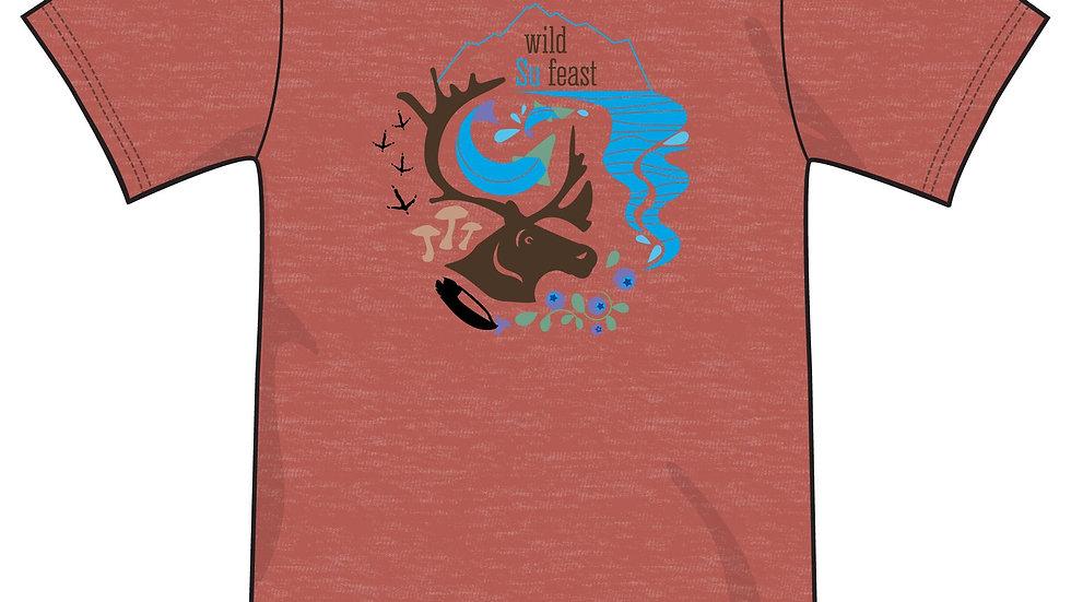 Black or Rust Wild Su Feast T-Shirt