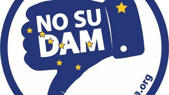 No Su Dam - Sticker