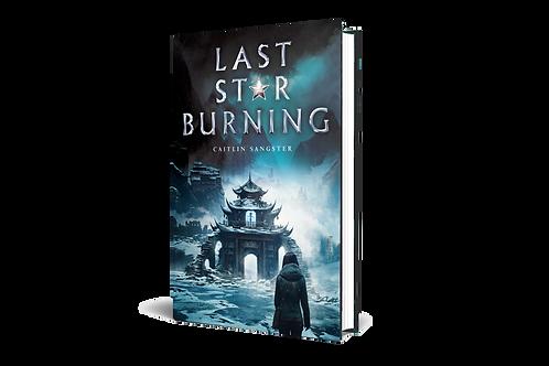 Last Star Burning hardcover