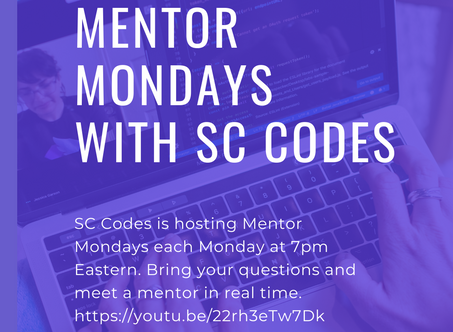 Mentor Monday with SC Codes