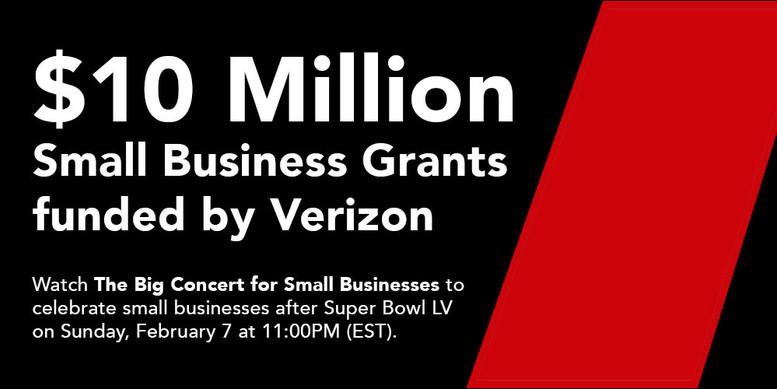 Verizon Relief Grant Funds