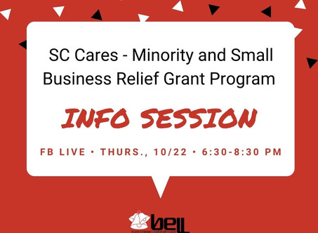 SC CARES - Minority and Small Business Relief Grant Program