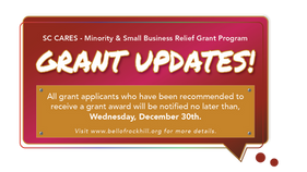 SC CARES - Minority & Small Business Relief Grant Assistance Updates!