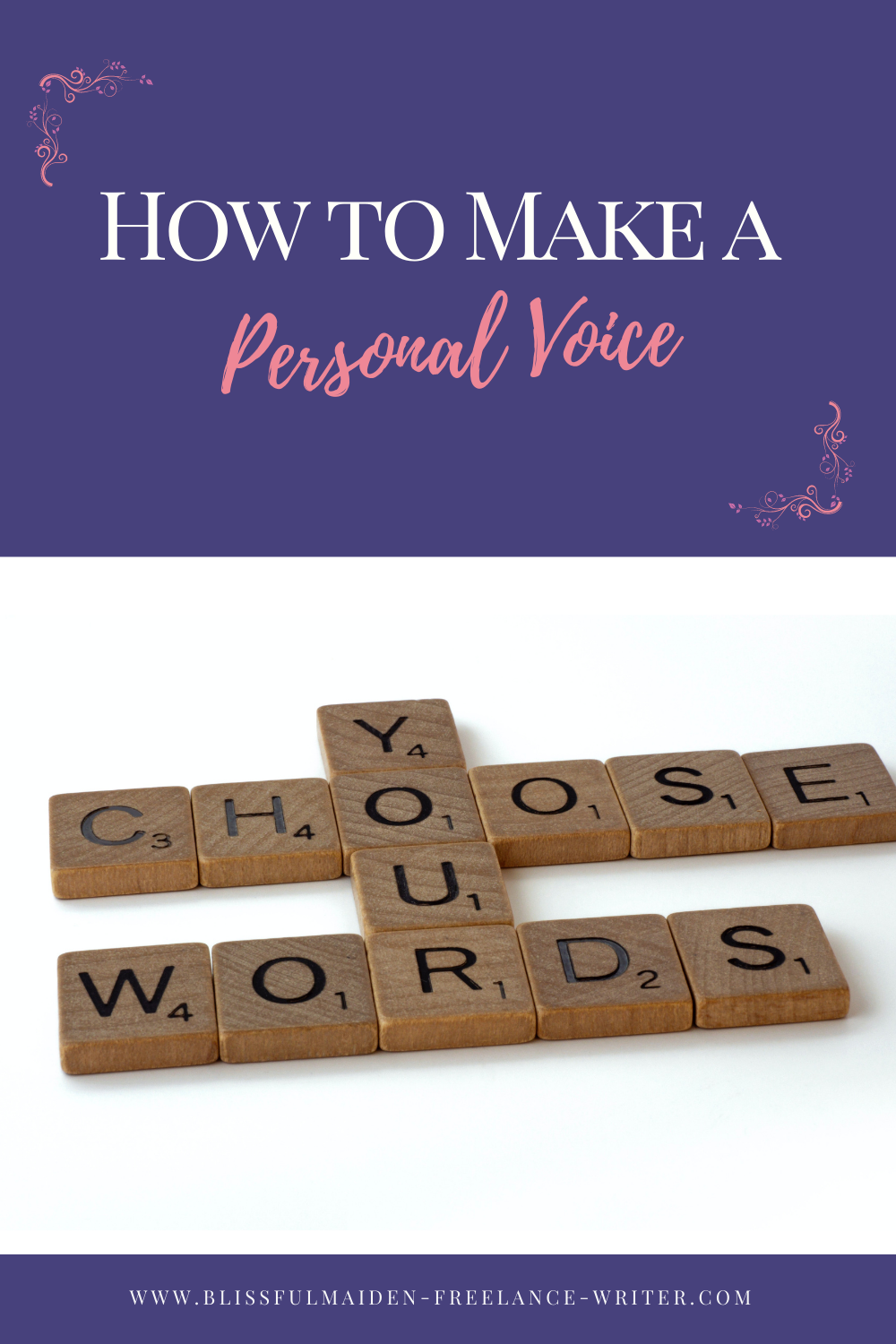 how to write your personal voice for your business
