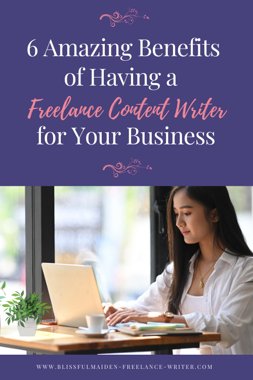 A freelance content writer can help you market your business 24/7 in any social media platform and any media.