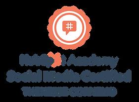 Hubspot Social Media Certified 2021 Then