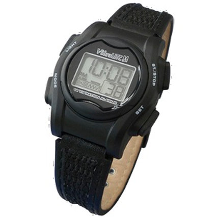 Mini Vibra Lite  - Vibration Alarm Uhr,  schwarz