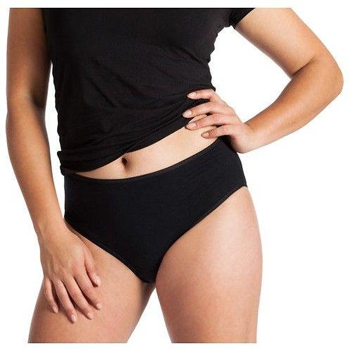 Damen Taillen-Slip schwarz