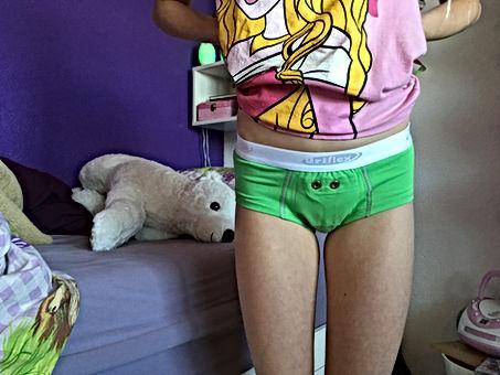 Bettnässen, Klingelhose, Training gegen Bettnässen mit schönen Unterhosen, Urifoon