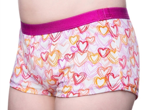 Boxer Mädchen Hearts - Dry&Cool