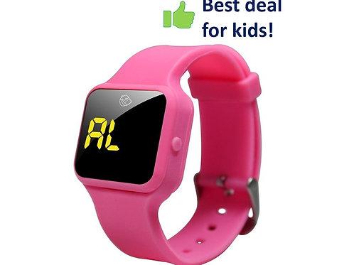 Vibrationsuhr R16 rosa, Ideal für jüngere Kinder!