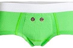 Sensorunterhose grün Mädchen, 1 Stück