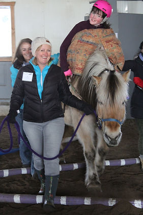 Horse Therapy, Volunteer