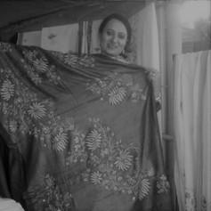 Zahida Amin, Aari Embroidery