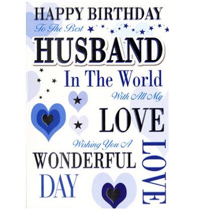 Birthday - Husband
