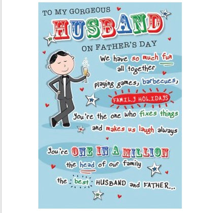 Father's Day - Husband