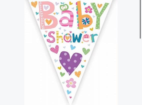 Bunting -Baby Shower