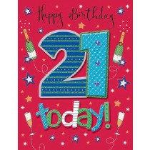 Pizzaz Range - Birthday - Age 21