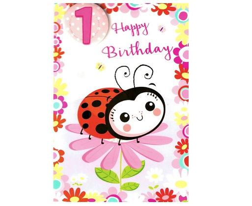 Birthday - Age 1