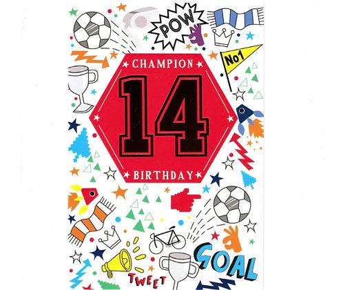Birthday - Age 14