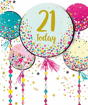 Birthday - Age 21
