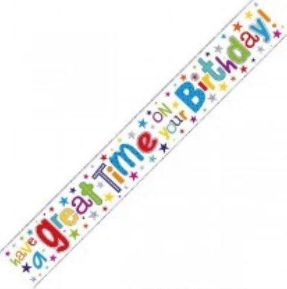 Banner - Birthday