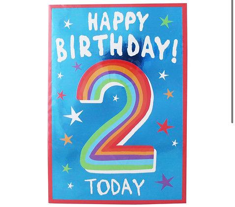 Birthday - Age 2