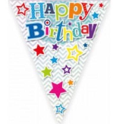 Bunting - Star Happy Birthday