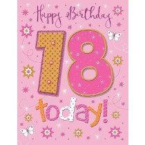 Pizzaz Range - Birthday - Age 18