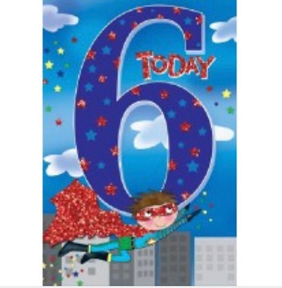 Birthday - Age 6