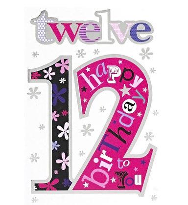 Birthday - Age 12